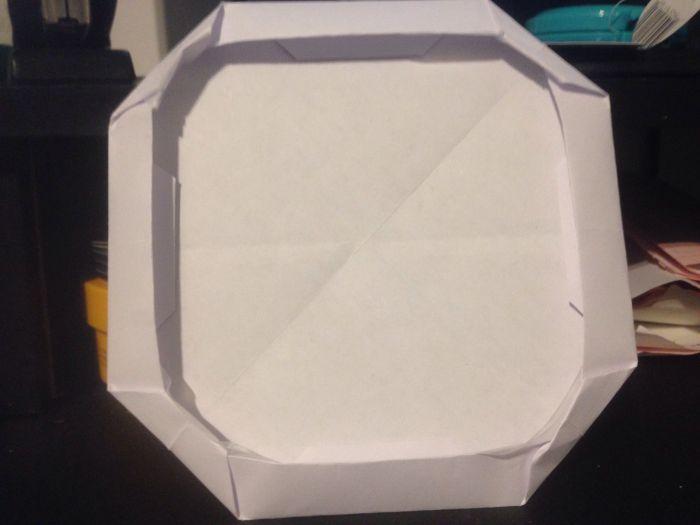 Origami Photo Frame Instructions