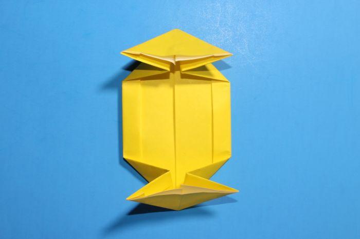 Origami Spaceship Instructions