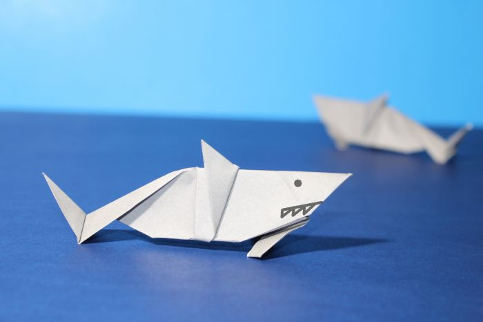 Origami Shark Instructions