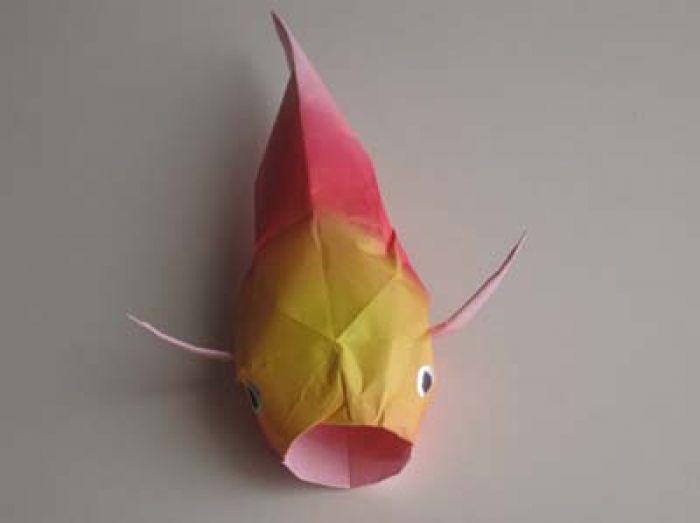 Origami Koi Instructions